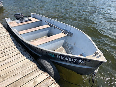 16' Lund boat rental
