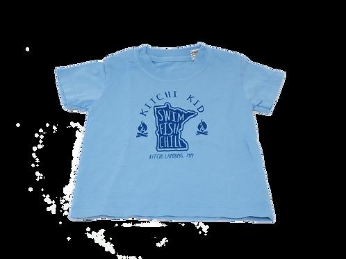 Kitchi Kid Swim Fish Chill T
