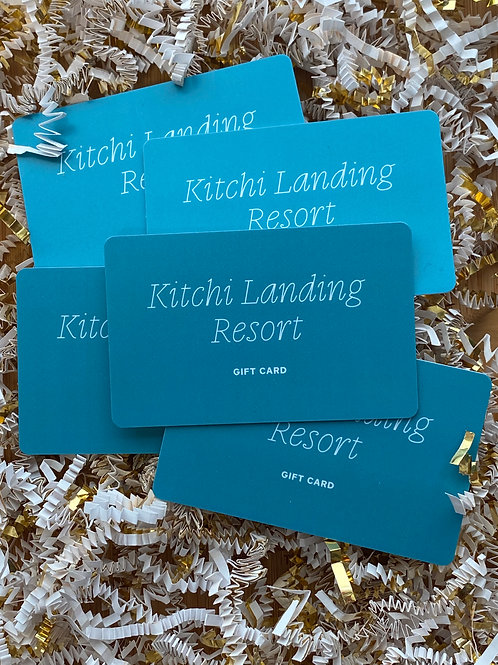 Kitchi Landing Gift Card