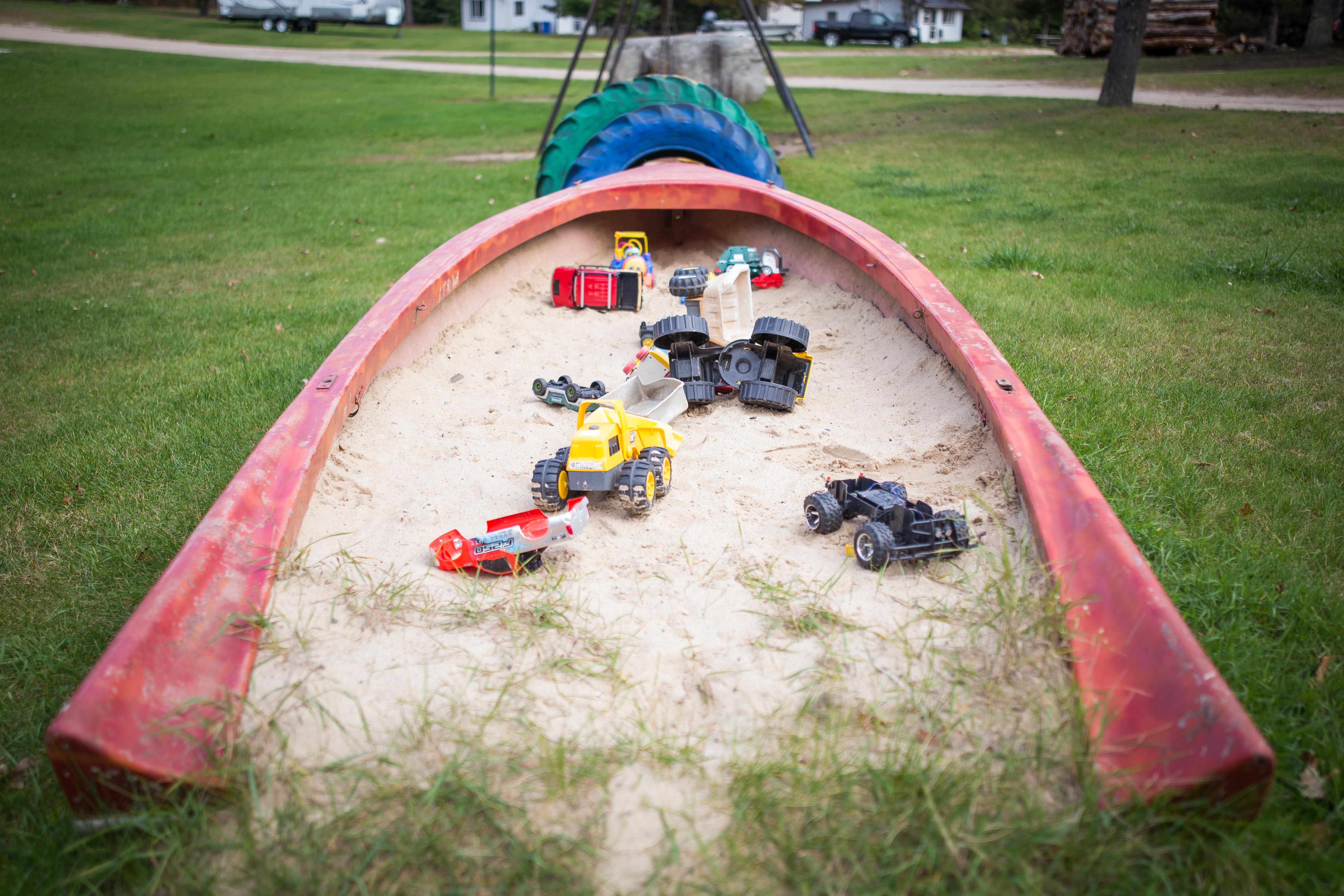 Old Boat Sandbox
