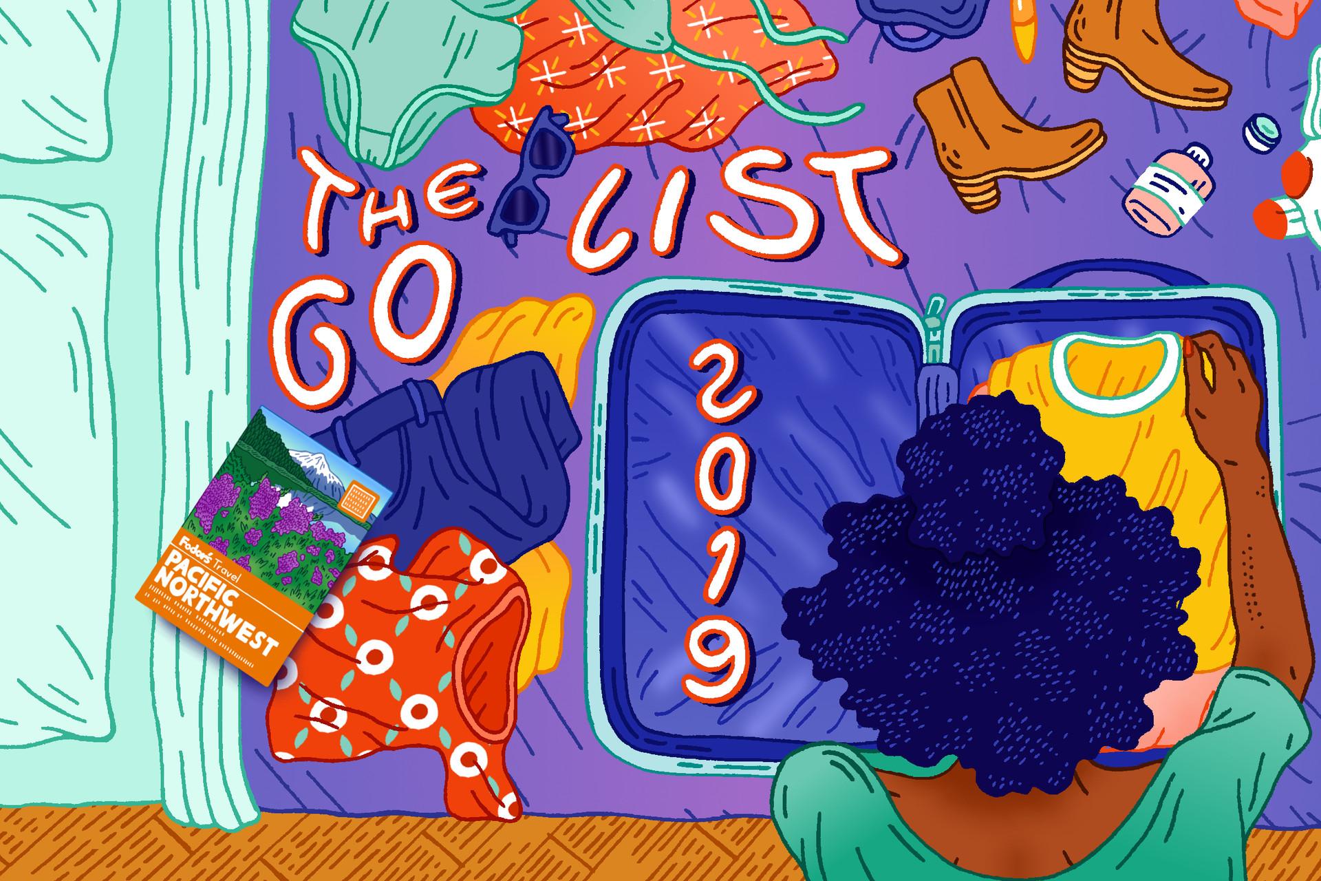Fodor's 2019 Go List