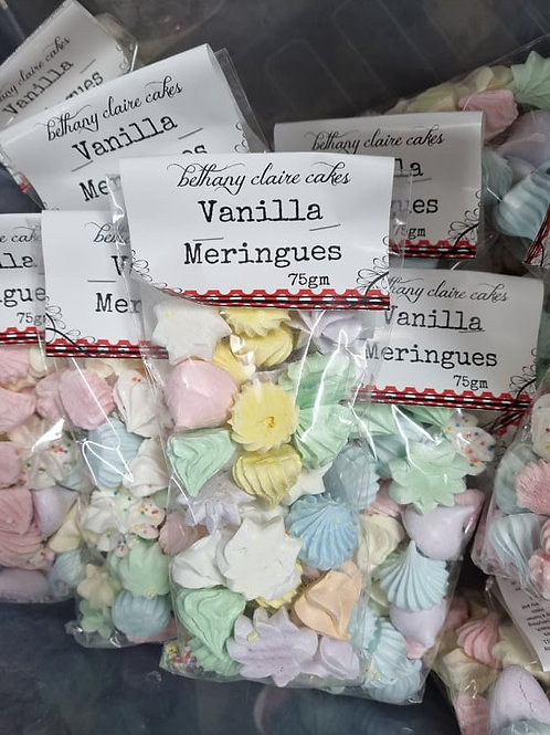 Vanilla Mini Meringues 75gm