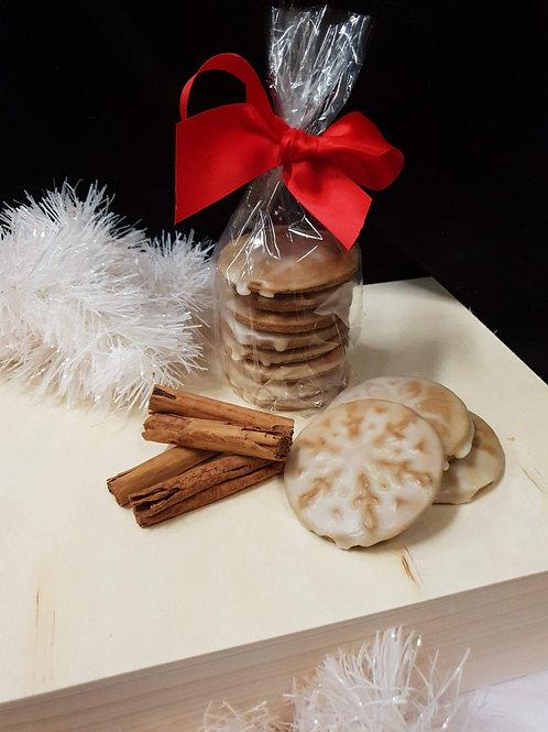 Spiced Gingerbread with Cinnamon Glaze 250gm