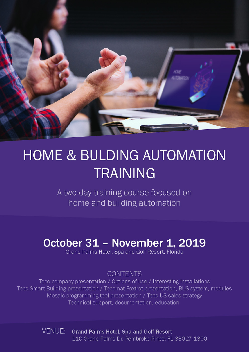 Home and building Automation training courses