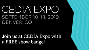 Visit us atCEDIA Expo 2019, the International home tech and training trade show