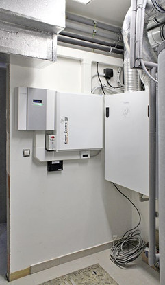 Electrical cabinet in a technical room