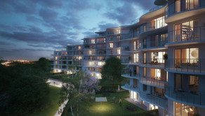 Apartment control systems at SKY Barrandov, a luxurious residence in Prague