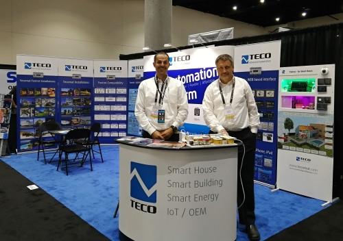 Teco booth