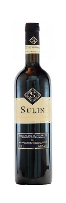 Sulin - Barbera Monferrato DOC, 2012