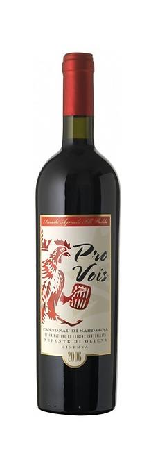 """Puddu - Nepente di Oliena, Cannonau di sardegna DOC Riserva """"PRO VOIS"""", 2011"""