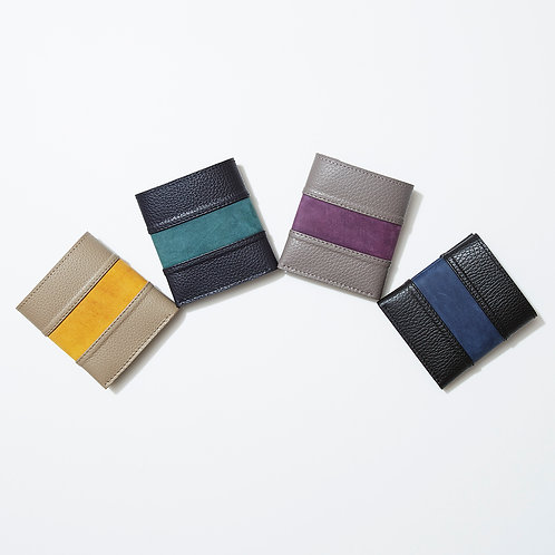 〈COINLESS FOLD WALLET〉【BARRIO】