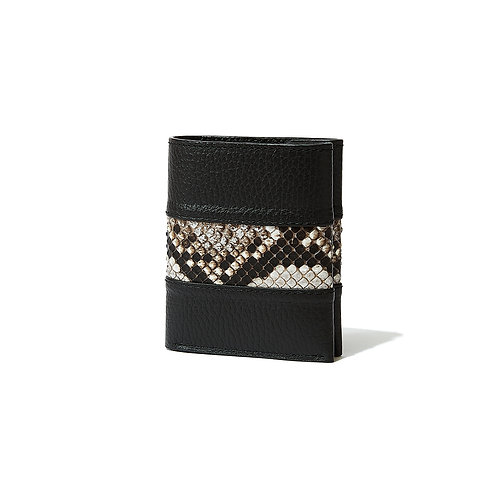 〈COINLESS FOLD WALLET〉【BARRIO】(DiamondPython)