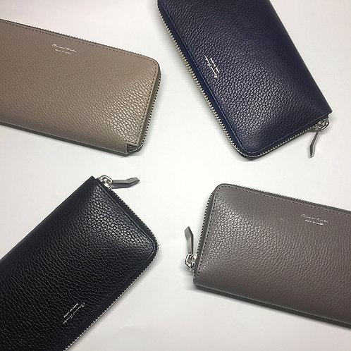 〈ROUND ZIP LONG WALLET〉【 SENA 】