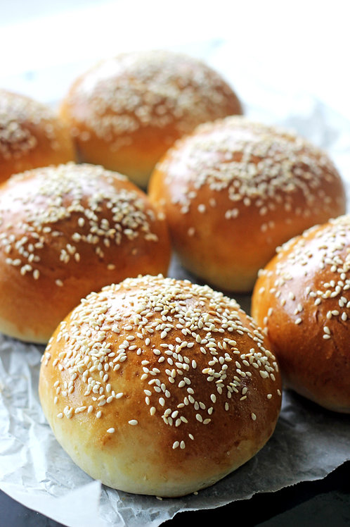Burger Buns (Pack of 6)