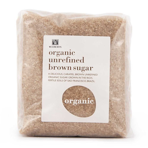 Organic Unrefined Brown Sugar
