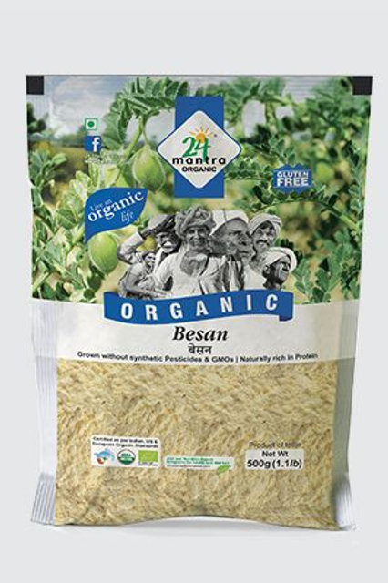 Organic Chickpea (Besan) flour