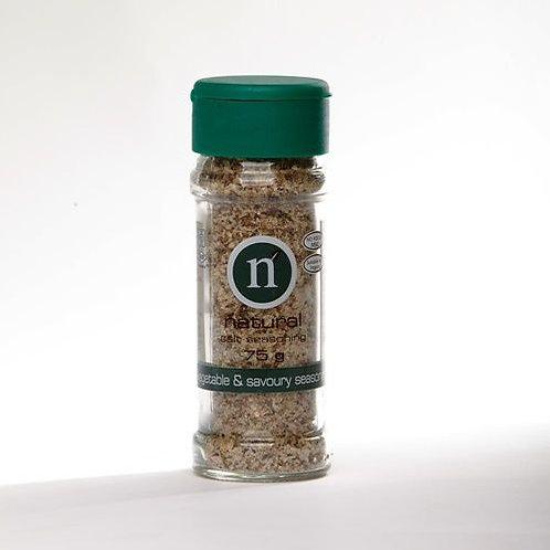 Natural Herbs And Spices Veg & Savoury Salt Season
