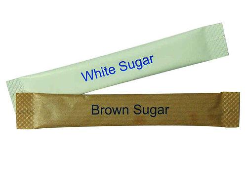 White or Brown Sugar Sachets (5kg)