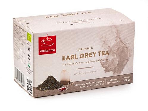 Organic Earl Grey Tea (20 Teabags)