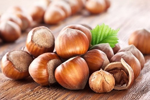 Hazelnuts Natural with Skin