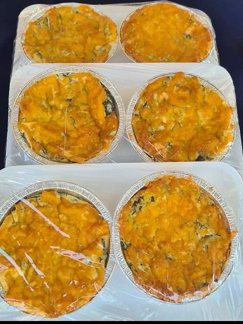 Mini Spinach Quiche (Pack of 2)