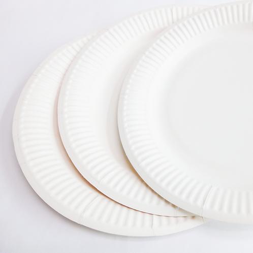 Paper Plates (50 Plates)