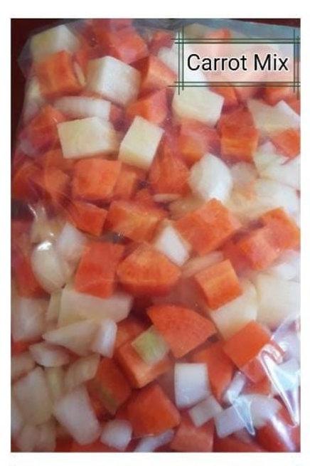 Carrot Mix (500g)