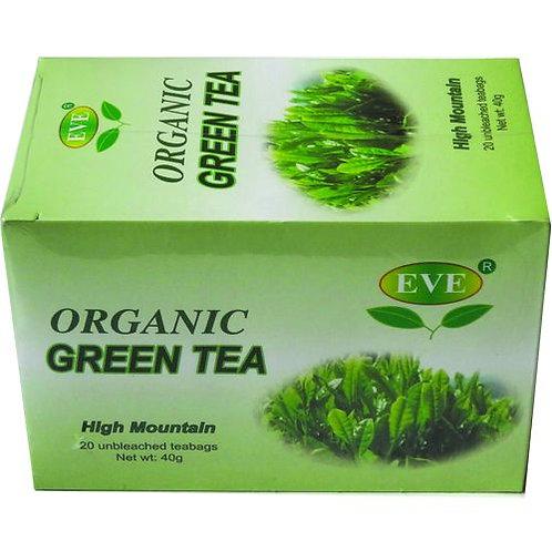 Organic Green Tea (20 Teabags)
