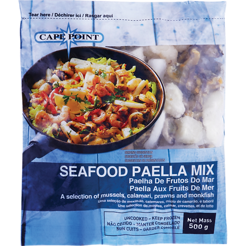 Cape Point Frozen Seafood Paella Mix