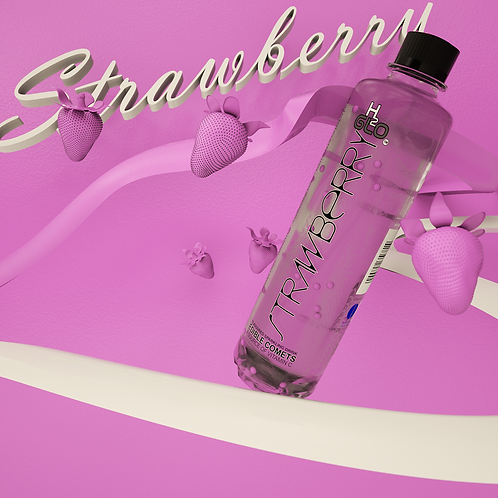 H2Glo Strawberry flavoured sparkling water