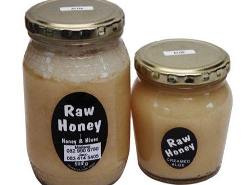 Creamed Aloe Honey