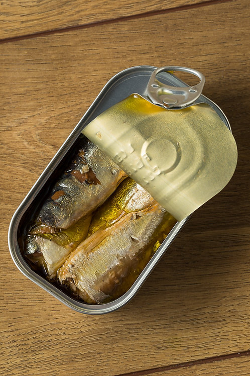 Canned Sardines in Vegetable Oil