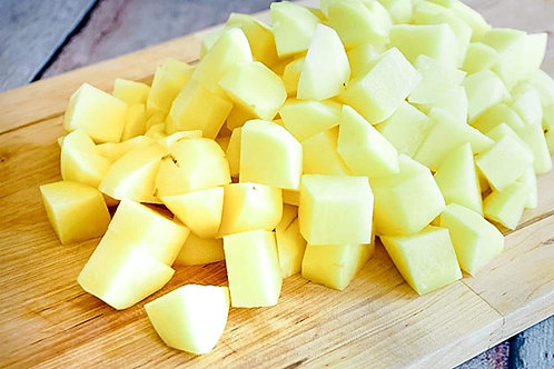 Prepacked Potato Cubes (500g)