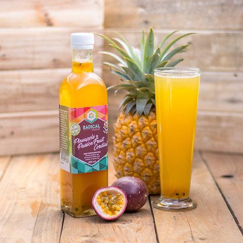 Vegan Pineapple & Passion Fruit Cordial
