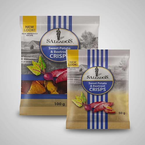 Salgados Vegetable Crisps (100g)