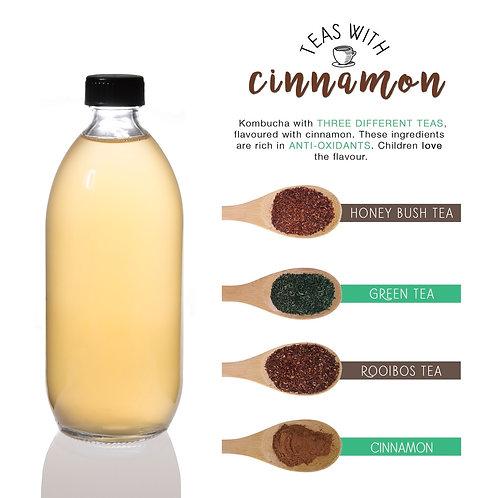 Teas & Cinnamon Kombucha