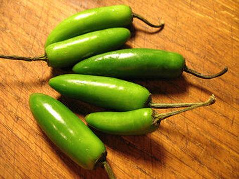 Green Serrano Chillies