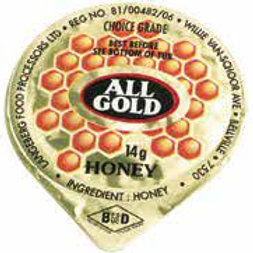 All Gold Honey Portions (200)