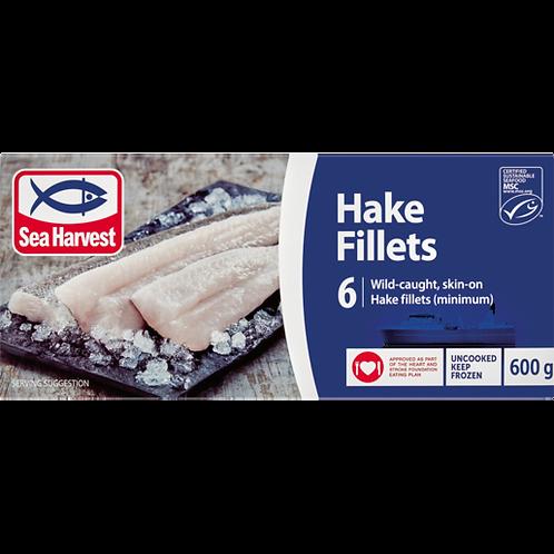 Sea Harvest Frozen Plain Hake Fillet