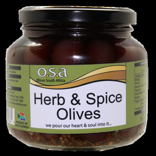 Herb & Spice Olives