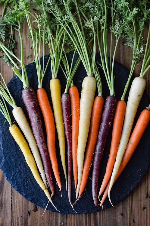 Rainbow Baby Carrots (1kg)