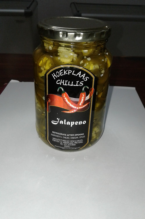 Pickled Jalapeno's