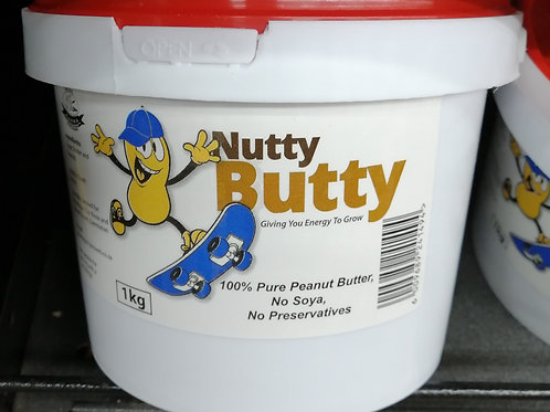 Nutty Butty Smooth Peanut Butter