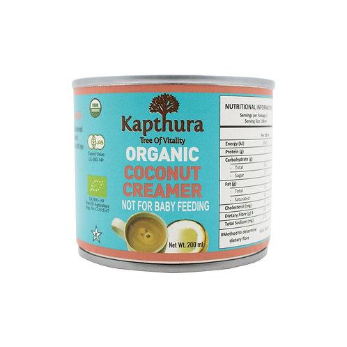 Organic coconut milk creamer