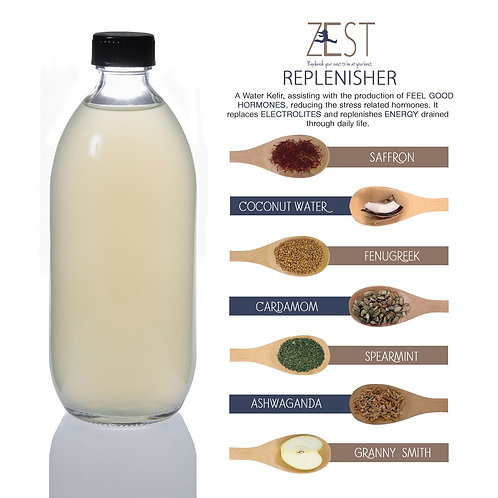 Zest Replenisher Water Kefir