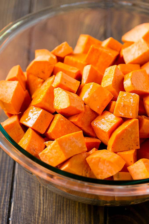 Prepacked Sweet Potato Cubes (500g)