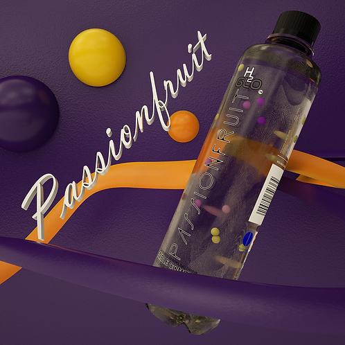 H2Glo Passionfruit flavoured sparkling water