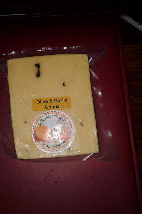 Olive & Garlic Gouda