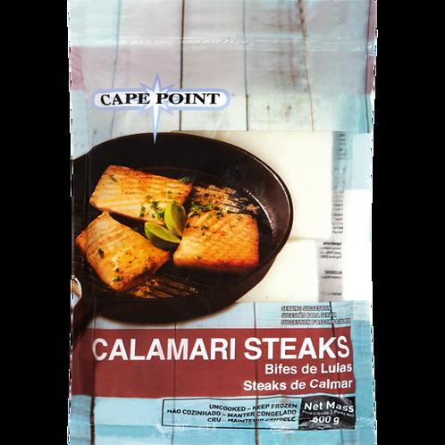 Cape Point Frozen Calamari Steaks