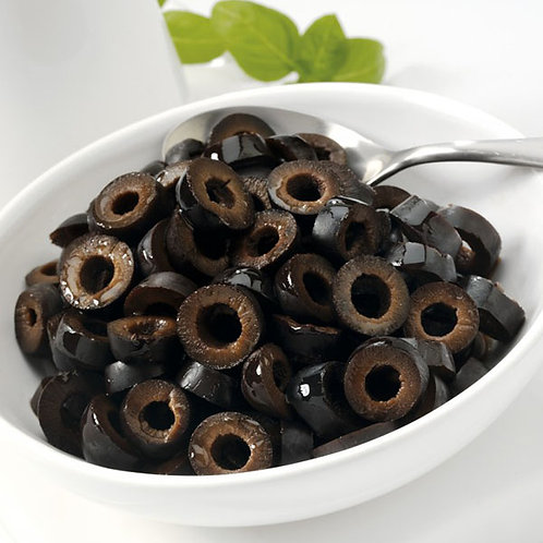 Black Olives Spanish (Sliced)